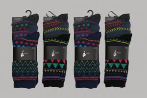 Men's Wholesale Argyle Socks