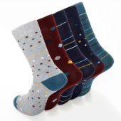 Men's 5pk Classic Formal Dress Socks