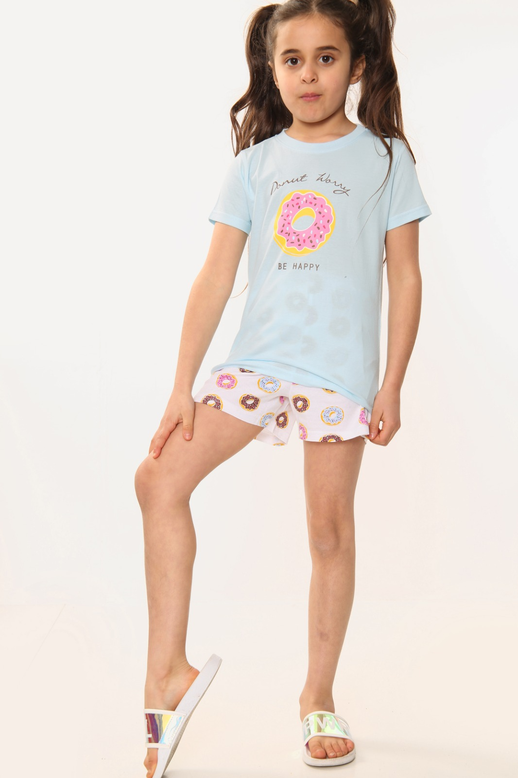 Girls Sweet Shorts Pyjamas